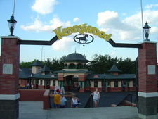 Main Gates To Kennywood