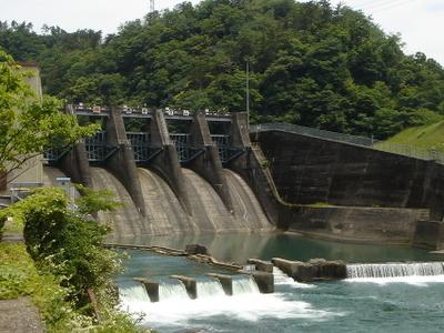 Nishidaira Dam On The Ibi River