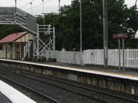 La estación de tren del Norte Boondall