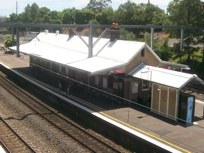 North Strathfield RailwayStation