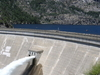 Hetch Hetchy Reservoir Behind The O'Shaughnessy Dam
