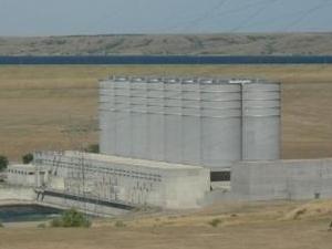 Oahe Dam.