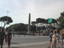 Obelisk Of Axum In Rome - Ethiopia