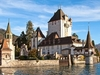 Oberhofen Castle - Lake Thun - Bern Switzerland