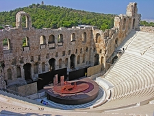 Odeion Of Herodes Atticus @ Athens