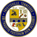 Official Seal Of Fayetteville Tennessee