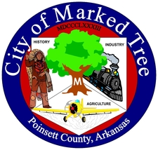 Official Seal Of Marked Tree Arkansas