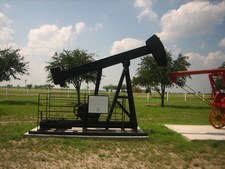 Oil Well Exhibit In Freer