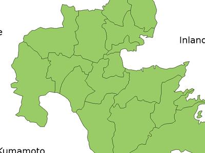 Oita Map Current