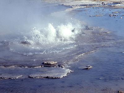 Ojo Caliente Spring - Yellowstone - USA