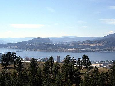 View Of The Okanagan Valley