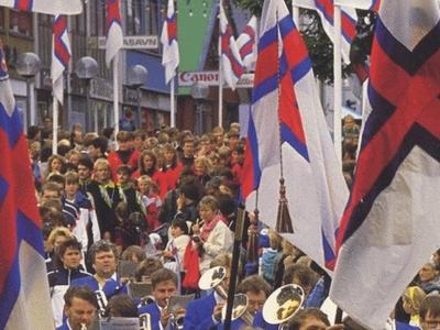 Olavsoka Parade - Faroe Islands