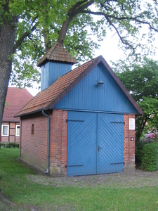 Old Fire Engine House In Becklingen
