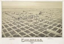 Old Map Childress