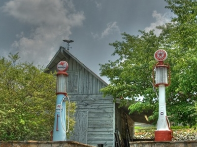 Old  Pumps Of  Yesteryear