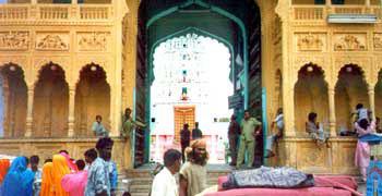 Old Rangji Temple - Pushkar