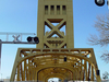 Old Tower Bridge In Sacramento