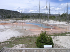 Opalescent Pool - Yellowstone - USA