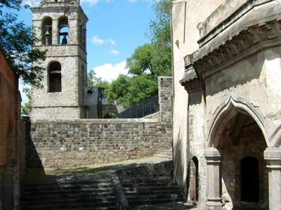 The Former Convent Of San Francisco In Tlaxcala