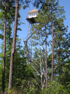 Open Pond Fire Lookout Tower