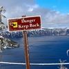 OR Danger - Crater Lake NP