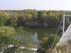Orenburg Ural Bridge View From Above