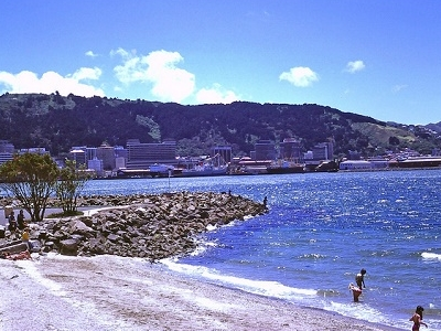 Oriental Bay - Waterloo Quay - Wellington NZ