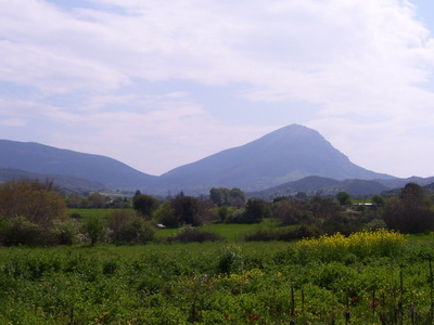 Ortholithi Mountain