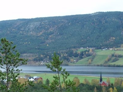 Otnes Village And Lomnessjen