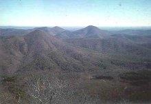Ouachita Mountains In Arkansas.