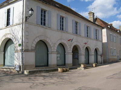 Town Hall In Ouanne