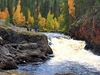 Oulanka Canyon & Oulanka River In Fall - Finland