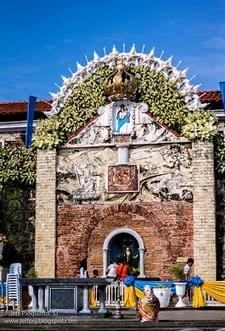 Our Lady Of Pillar Shrine Entrance - Zamboanga City