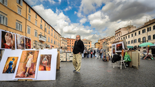 Outdoor Art Gallery - Piazza Navona - Rome