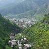 Overlooking Borjomi Amid The Lesser Caucasus.