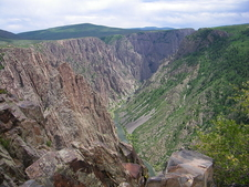 Overview Black Canyon With Gunnison River