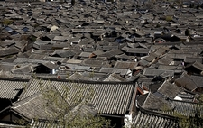 Overview Lijiang Old Town