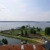 Overview Nilov Monastery At Stolobny Island