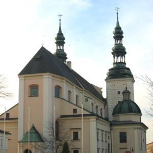 Łowicz Basilica Poland