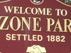 Ozone Park Welcome Sign