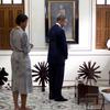 Obamas Tour Gandhi's Room At Mani Bhavan