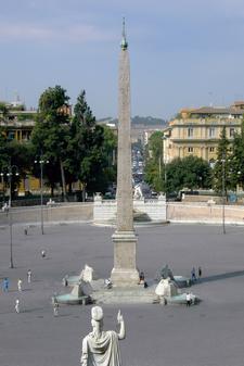 The Obelisco Flaminio