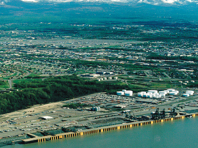 Anchorage Port View