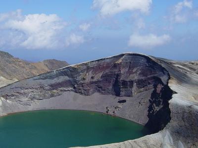 The Okama Crater Lake