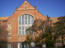 Old Museum Building Side Entrance