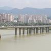 Olympic Bridge On Hangang River