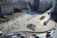 Omonoia Square In The Afternoon