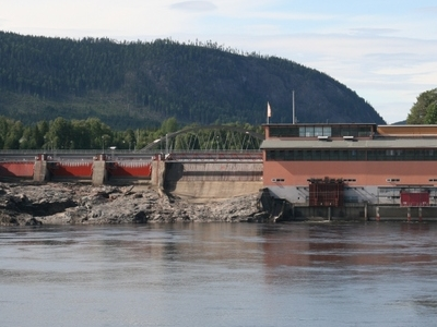 One Of The Many Hydropower Plants Of Indalslven.