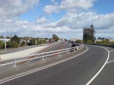 The Southern End Of Ian McKinnon Drive