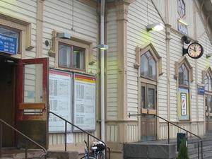 Oulu estación de tren